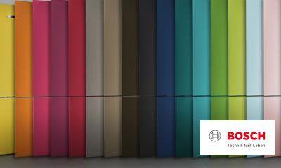 Bosch Kühlschrank Temperatur : Bosch vario style farbige fronten für ihren kühlschrank ihr