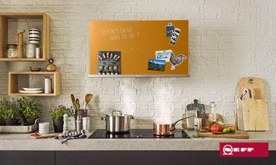 Kreative dunstabzugshauben von neff für kreative küchen. ihr